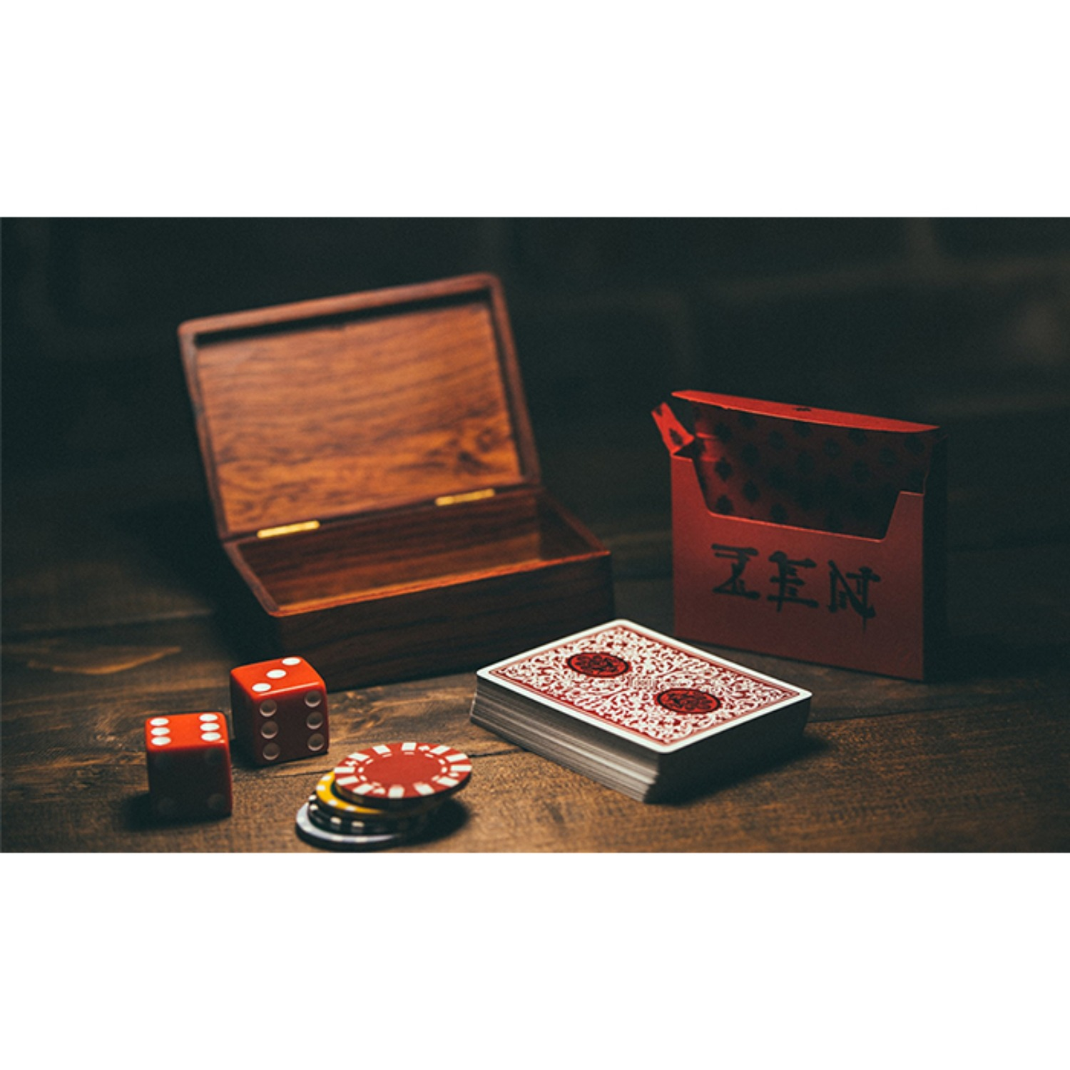 [로열젠플레잉카드/레드]Royal Zen Playing Cards (Red) by Expert Playing Cards